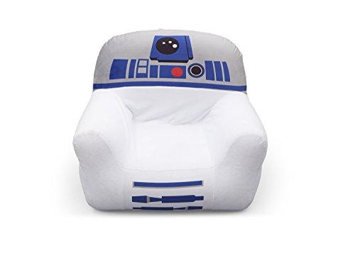 Delta Children R2D2 Chaise Club Star Wars Lit