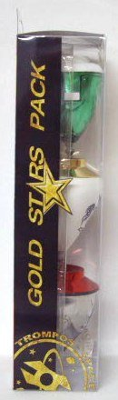 Xtreme - Pack de Tres Trompos Gold Star (Space 008000047)
