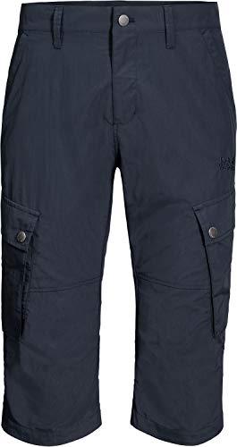 Jack Wolfskin Desert Valley 3/4 M Pantalon Homme Night Blue FR : M (Taille Fabricant : 50)