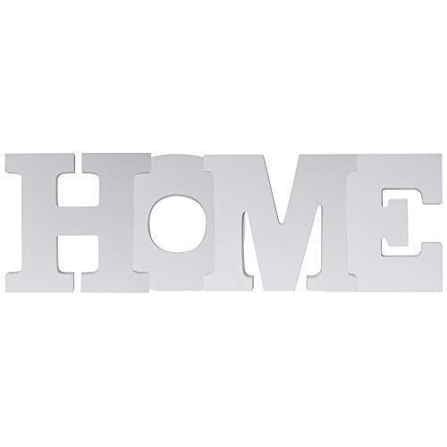 Elbmöbel - Scritta 'Home' decorativa con grandi lettere