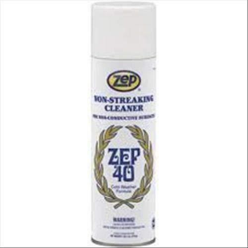 ZEP 40 NEW Schiuma aerosol per vetri e superfici lisce DETERGENTE 800ML9,40