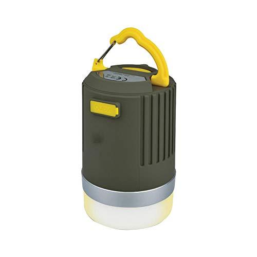 Linterna de Camping LED, USB Batería Lámpara de Exterior Impermeable 3 Modos de Iluminación para Emergencias, Pesca, Cortes de Energía y Más