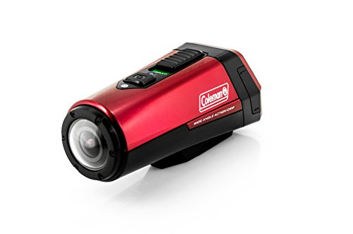 Coleman CX9WP-R AktivSport 1080p HD Action Sports Camera with GPS and Health Stats (Red)