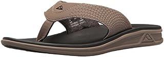 reef Men's Rover Sandal (47 M EU / 14 D(M) US, Tan/Black)