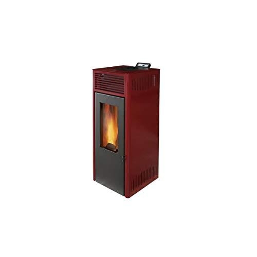 Invicta NOLA Pelletofen 7-7 kW – Rot