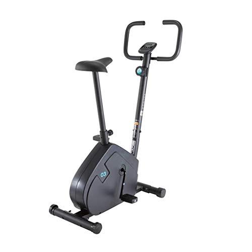 Vélos elliptiques Bicicleta Estática, Equipo De Fitness para El Hogar, Bicicleta Giratoria De Magnetrón, Bicicleta De Ejercicio (Color : Black, Size : 121 * 48 * 87cm)