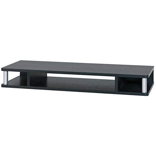 朝日木材加工 テレビ台 ちょい足しラック 32型 幅79cm ブラック 完成品 AS-80CT