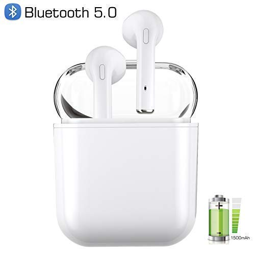 Bluetooth Headphone in-Ear Sports HD Stereo with Noise