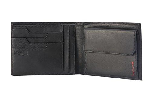 Samsonite Prod-DLX 4s RFID Billfold 8cc+2comp 7cc+vflap+Coin+2c+w Monedero, 14 cm, Negro