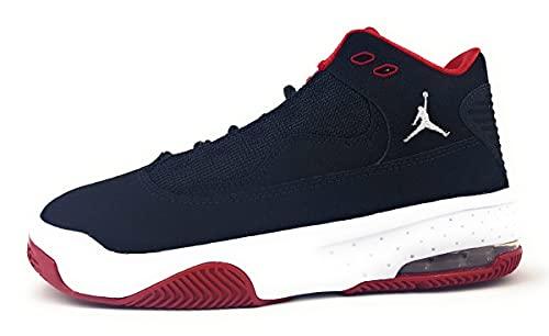 Nike Jordan Max Aura Sportschuhe Kinder Sneaker Trainingsschuh Schwarz Freizeit, Schuhgröße:EUR 40   US 7Y