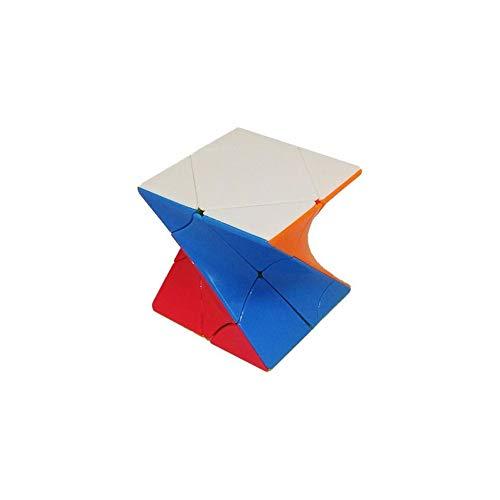Ludokubo Cubo Fanxin Twisty skewb - Stickerless