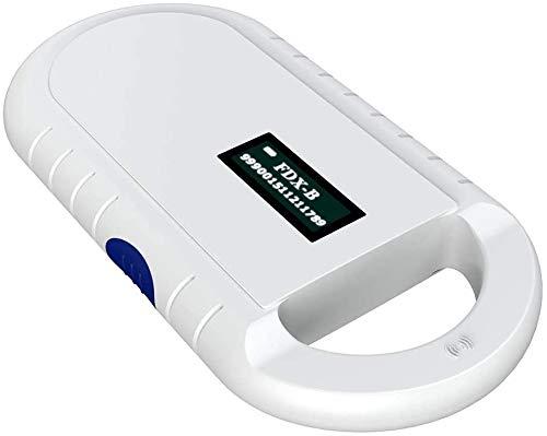 LBH Tierchip Lesegerät Chipleser für Tiere RFID Chip Microchip Tiere ISO Transponder zur Tieridentifikation