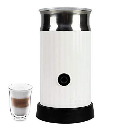 XHDD Vaporizador de Leche Eléctrico,Batidora de Leche Eléctrico para Leche Caliente o Fría Espuma Rápida,para Cappuccino Latte Mocha,500W