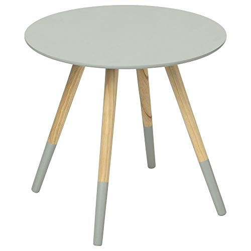 Table basse design moderne Gris clair - Mileo