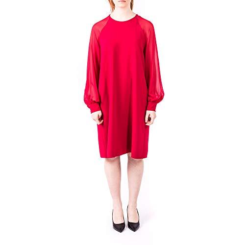 Luxury Fashion | Max Mara Studio Dames 62211097000018 Rood Polyester Jurken | Seizoen Outlet