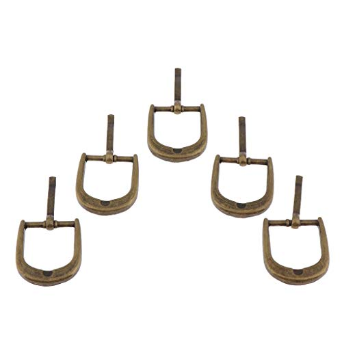 20 Pcs Triangular Triple Metallic Sliding Buckle Bag Making Accessories Backpack Luggage - Bronze 20mm, Style 4-5pcs