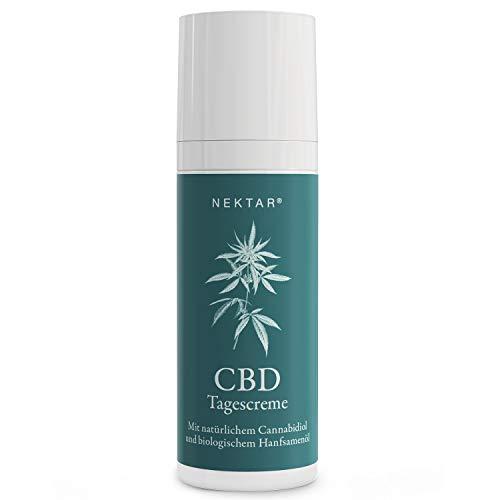 Nektar® Naturkosmetik CBD Tagescreme Anti Aging Vorsorge für Mischhaut und bei trockener, sensibler & empfindlicher Haut