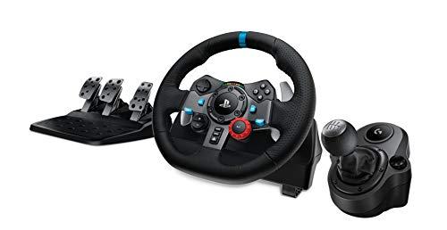 Logitech G29 Driving Force Race Wheel + Logitech G Driving Force Shifter Bundle