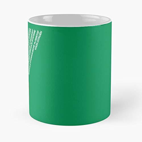 Taza de café de cerámica hidráulica Citroen Lhm Best 11oz Eat Food Bite John Best 11oz taza de café de cerámica