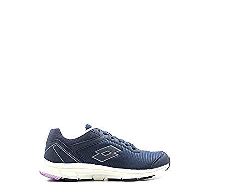 Lotto Speedride 500 IV W, Zapatillas de Atletismo para Mujer, Azul (BLU AVI/Tit Gry 000), 41 EU
