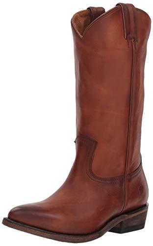 Frye Women's Billy Pull On Western Boot, Cognac, 9