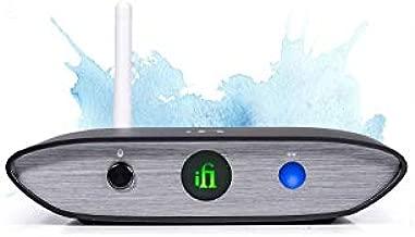 iFi Zen Blue HiFi Bluetooth Receiver Desktop DAC/Adapter - Wireless Input/Outputs - Optical/Coaxial/SPDIF/RCA / 4.4 Balanced - Audio System Upgrade (Unit Only)
