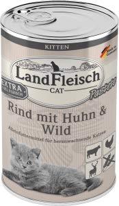 Landfleisch LaFl. Cat Kitten Rind+Huhn400gD
