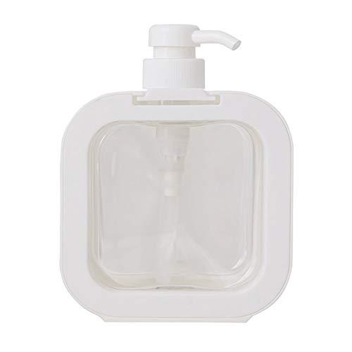 NiceJoy Pompe de Bouteille Shampooing Shampooing Bouteilles 500ml Bouteille pour Main Sinitiser Nettoyage Voyage Articles de Toilette Blanc