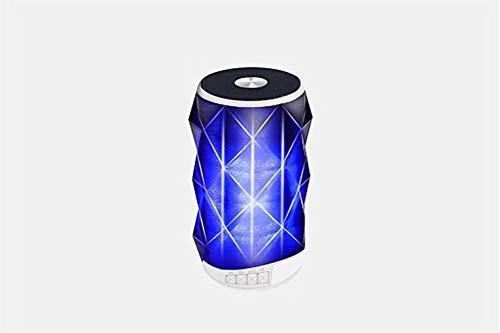 WERNG Crystal Coke Bluetooth-luidspreker, LED, lantern subwoofer, draagbaar, touch-kaart, draadloos, Bluetooth, draagbaar, kaart