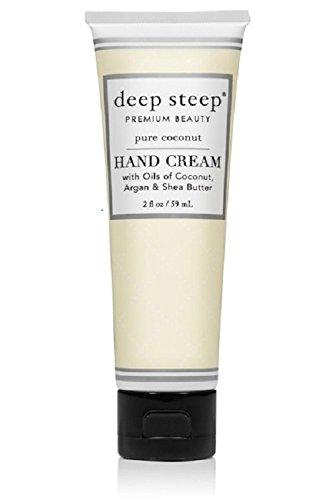 Deep Steep Crème pour les mains, 56,7 gram, Pure de noix de coco