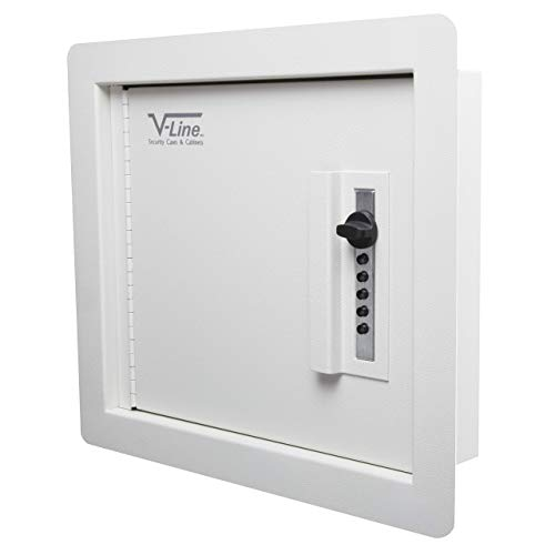 V-Line Quick Vault Locking Storage for Guns and Valuables, Ivory