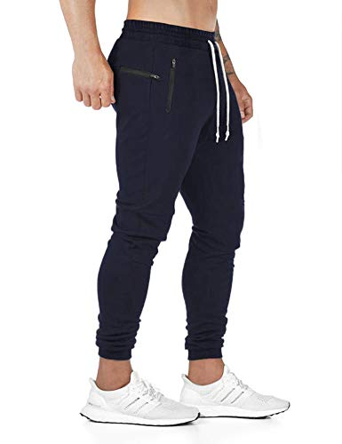 COOFANDY Men's Athletic Workout Pants Fitness Tapered Joggers Track Sweatpants