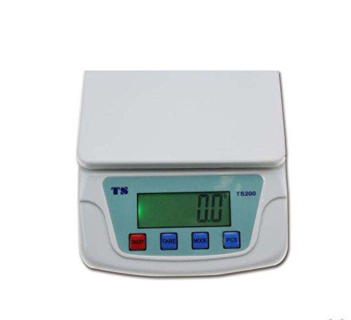 KIYOYO 家庭用デジタルスケール 1g単位で、最大10kgまで計量可能 デジタル台はかり スケール 電子秤 風袋機能、オートオフ機能 (10kg)