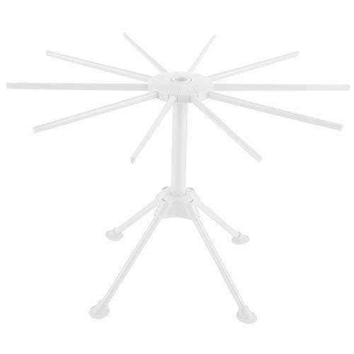 Tarente Fideos Espaguetis Pasta Secado Panel de Soporte Secadora Cocina de la Herramienta Plegable (Blanco)