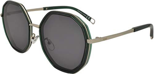 SQUAD Gafas de sol polarizadas para adultos hombres y mujeres,estilo casual clásico Hexagonales,Montura Cómoda con Protección UV400,objetivos de alta definición