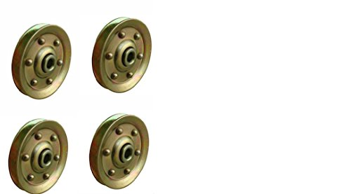 Learn More About Extra Heavy Duty Garage Door Pulley - 3 INCH 200LB (4 Pack)