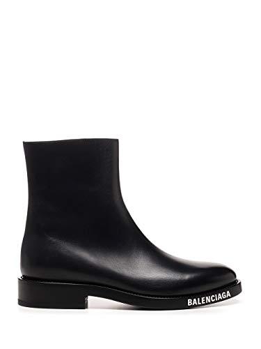 Balenciaga Luxury Fashion Uomo 590717WA7201000 Nero Pelle Stivaletti | Autunno-Inverno 20