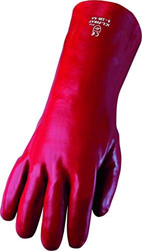 ASATEX PVC-Handschuh PL-P, rot (12 Paar)
