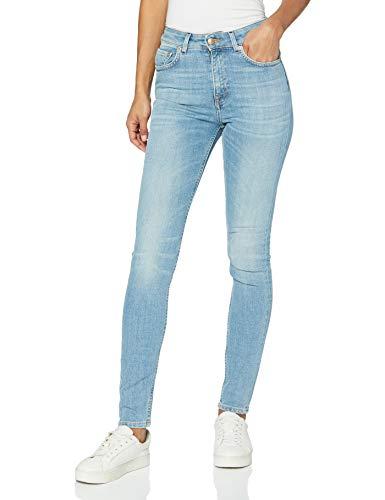 Won Hundred Marilyn B Light Wave Blue Jeans Slim, Onda Luce Blu 449, W25 / L34 Donna