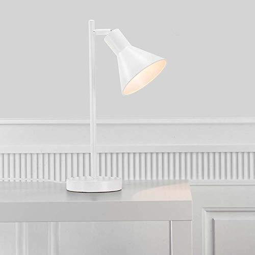Nordlux Tischleuchte EIK E27, Höhe 46cm, Schirm Ø 15cm, E27, Weiß