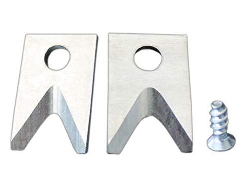Weicon 51100002 Set de Cuchillas de Repuesto para Pelacables No.5/No.6