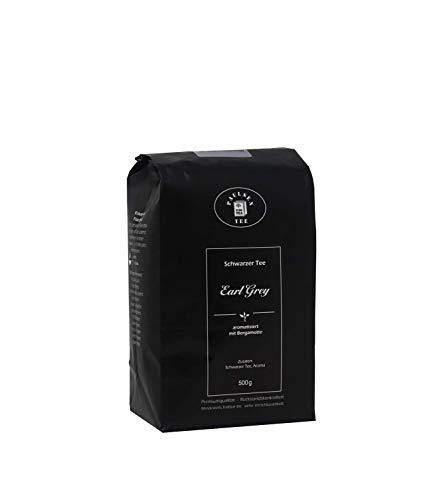 Paulsen Tee Schwarzer Tee Earl Grey 500g, rückstandskontrolliert