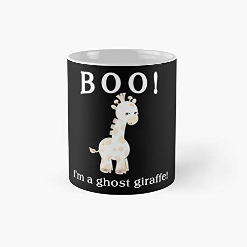 Copy Of Boo I'm A Ghost Giraffe Classic Mug - Taza de caf (300 ml)