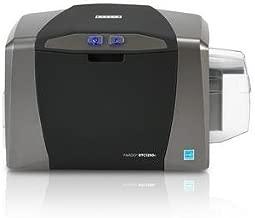 Fargo DTC1250e Single Sided USB Card Printer with Supplies Bundle (50605)