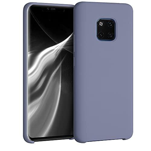 kwmobile Hülle kompatibel mit Huawei Mate 20 Pro - Hülle Handyhülle gummiert - Handy Hülle in Lavendelgrau