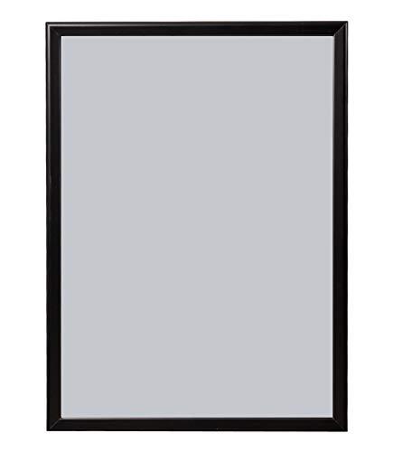 DWA Top Artikel DIN A3 A4 Wechselrahmen Klapprahmen Plakatrahmen Bilderrahmen Posterrahmen Infotafel Werbetafel Schwarz Aluminium 25 mm Klemmprofil Ecken auf Gehrung (Schwarz, A4)