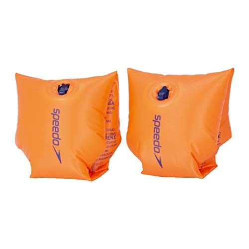 Speedo Manguitos Estampados Koala, Junior Unisex, Anaranjado, 0-2 Meses