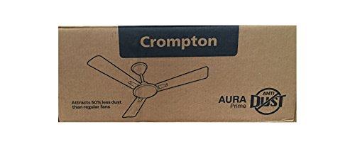 Crompton Aura Prime Anti-Dust 48-Inch Ceiling Fan (Birken)