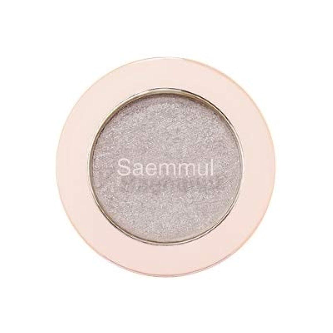 カウント詳細に尊厳theSAEM ザセム セムムル シングル シャドウ グリッター 7類 Saemmul Single Shadow GLITTER アイシャドウ 韓国コスメ (WH02)