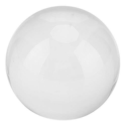 WosumeBoule de Cristal, 8cm Boule de Cristal Clair Galaxies Transparentes sphère Fortune Ball Home Office Decor(Milky Way)